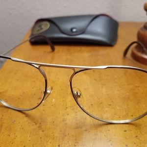 Vintage Rodenstock sunglasses with Ray-Ban case